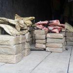 2 सौ 90 किलो चरस बरामद एक गिरफ्तार, ट्रक सीज —–