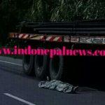 बैंक जा रही दो महिलाओं को ट्रक ने कुचला,मौके पर हुई मौत