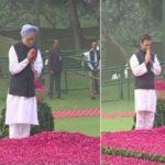 इंदिरा गांधी की 100वीं जयंती आज, शक्ति स्थल जाकर राहुल और मनमोहन ने दी श्रद्धांजलि