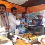 गोरखपुर:कांग्रेसियो ने पकौड़े बेच पीएम पर साधा निशाना