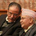 नेपाल:वामदलों का प्रस्ताव ओली व प्रचंड दोनों बनेगें प्रधानमंत्री