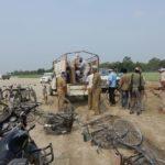 निचलौल::वन विभाग ने बंद कराया अवैध बालू खनन