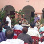 गोरखपुर:सभी से अपील त्योहार मिल जुलकर मनाये सीओ