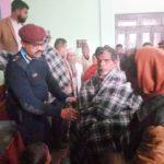 नेपाल : बुद्ध सामुदायिक सेवा केंद्र एवं सामुदायिक पुलिस सेवा द्वारा बुजुर्ग असहायों में कंबल वितरण
