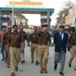 आईजी गोरखपुर ने किया सोनौली बार्डर का निरीक्षण, दिए चौकसी का निर्देश