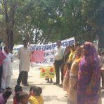 फरेंदा : मतदाता जागरूकता अभियान के तहत निकाली गई रैली